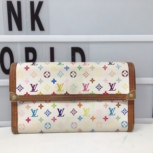 Louis Vuitton Multicolore Monogram Long wallet